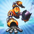 Robot race icon