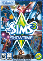 Sims 3 showtime box