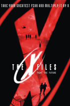 X files fight the futre poster