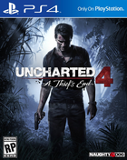 Uncharted 4 a thief's end cover art