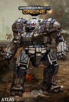 Mechwarrior online atlas concept