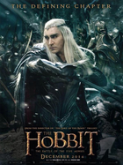 The hobbit the battle of the five armies character poster thranduil lee pace
