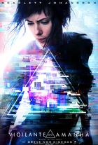 Ghost in the shell poster brasil