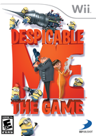 Despicable me the game wii us esrb