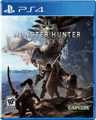 Monster hunter world ps4 boxart