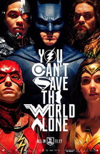 Justice league poster 663x1024