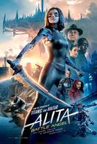 Slick new poster for alita battle angel1