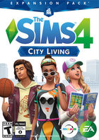Ts4 city living cover art