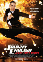 Johnny english german poster