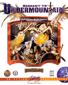 Dungeons and dragons descent to undermountain box
