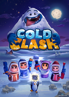 Cold clash poster logo