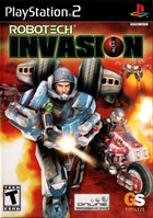 189615 robotech invasion playstation 2 front cover