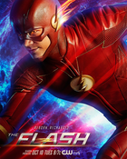 The flash season 4 poster   reborn. recharged
