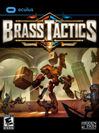 Brass tactics box cover