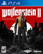 Wolfenstein 2 cover box art