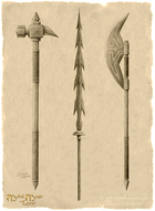 Weapons parchment print v2 w sig  150dpi