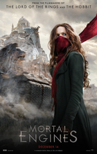 Mortal engines 2018 movie poster