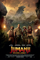 Jumanji 2017 poster