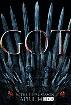 Game of thrones season 8 official poster coverart