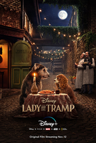 Lady and the tramp poster coverart