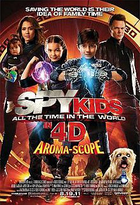 220px spy kids four all the time in the world poster