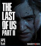 The last of us part ii box art ps4 playstation 4.original