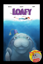 Loafy jaws poster with beef really small