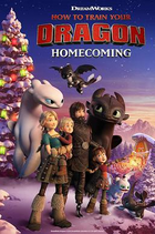 How to train your dragon homecoming poster