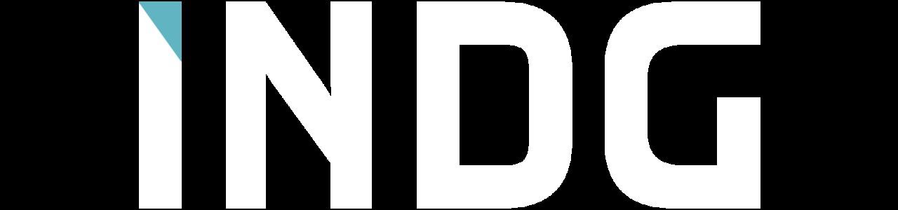 Indg white logo aqubalue