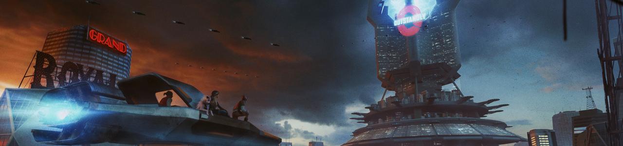 Scifi metropolis
