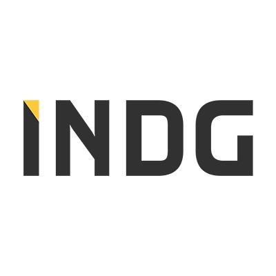 Indg black logo sungold 400px