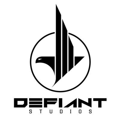 Defiant logo white 500x500