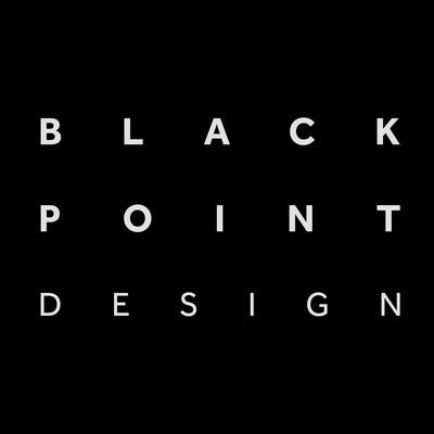Blackpoint design logo black