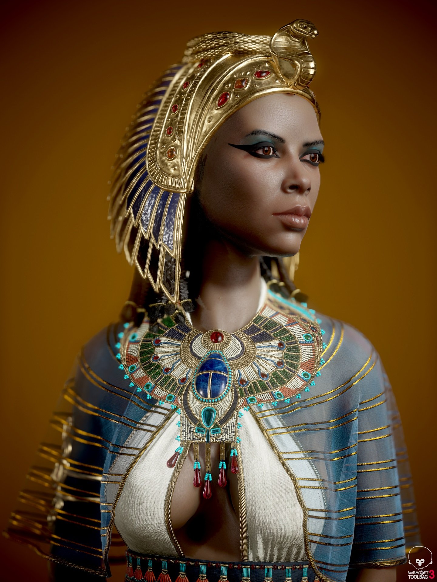 2nd Place, Ancient Civilizations: Lost & Found: Game Character Art (real-time)