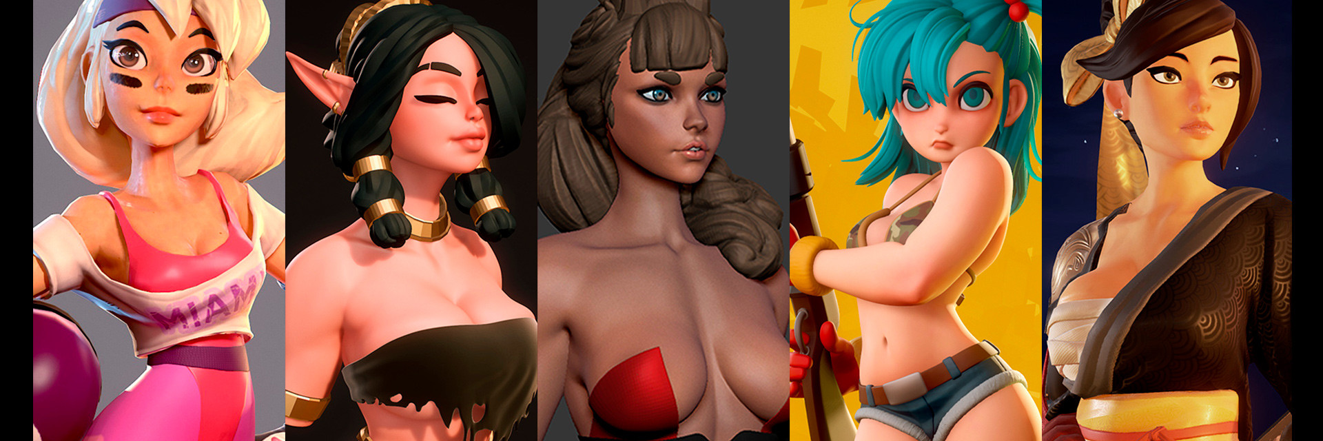 Mercurial Forge 3d Character Artist